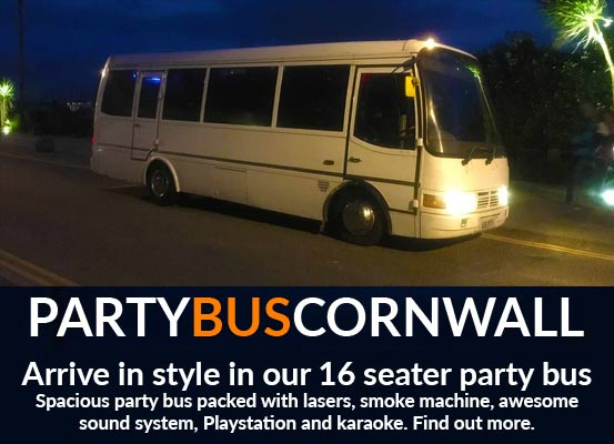 Party Bus Cornwall